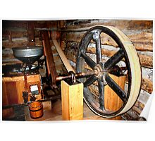 Moline, Texas Griss Mill  Poster