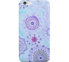 Mandala Purple Blue Ocean  iPhone Case/Skin