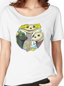 SIFL AND OLLY -- AND CHESTER Women's Relaxed Fit T-Shirt