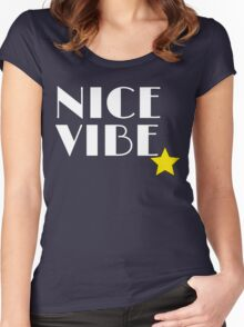 Nice Vibe (Ichigo Street Clothes 01) Women's Fitted Scoop T-Shirt