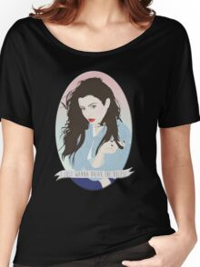 CHARLI XCX [BREAK THE RULES] Women's Relaxed Fit T-Shirt