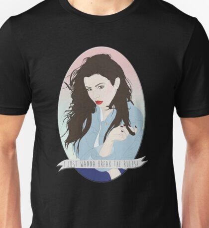 CHARLI XCX [BREAK THE RULES] Unisex T-Shirt