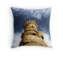Eternity in the stone Throw Pillow