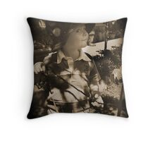 """""""Go'in Fishing"""" Throw Pillow"""