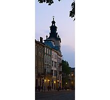Cathedral at evening Photographic Print