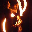 Fire Poi 2 by Steven Carpinter