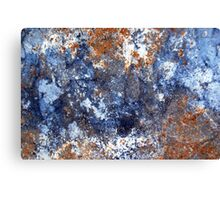 Muddy Blues Canvas Print