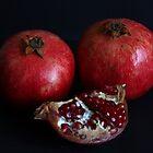 Pomegranates by annalisa bianchetti