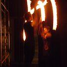 Fire Poi 1 by Steven Carpinter