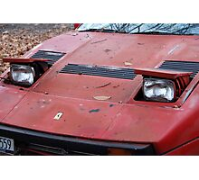 The art of the car: Ferrari 1984 GTO Berlinetta Nose Photographic Print