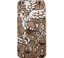 (Sepia) Wings of Desire iPhone Case/Skin