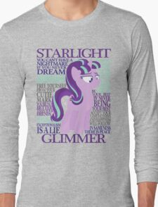 The Many Words of Starlight Glimmer Long Sleeve T-Shirt