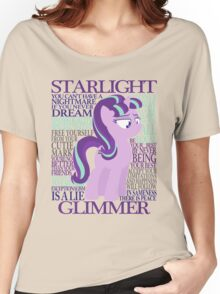 The Many Words of Starlight Glimmer Women's Relaxed Fit T-Shirt