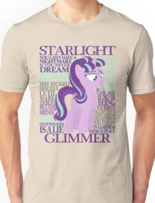 The Many Words of Starlight Glimmer Unisex T-Shirt