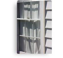 Stoddart Window Exterior Metal Print
