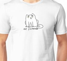 fat and confused cat Unisex T-Shirt