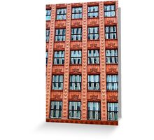 Reflections in Terra Cotta Greeting Card