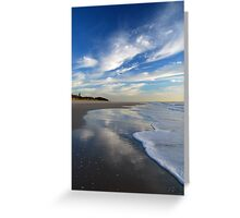 Sea, Sand & Sky ~ Bribie Island Greeting Card