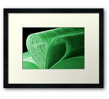 Hope of Love Framed Print