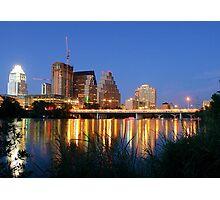 Night on the Town, Austin, Texas Photographic Print