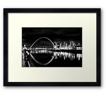 It was quiet, it was calm, it was magnificent Framed Print