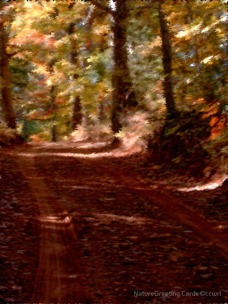 Autumn Impressions 3 by NatureGreeting Cards ©ccwri