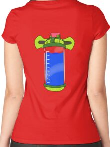 Ink Pack - Blue Women's Fitted Scoop T-Shirt