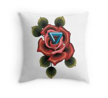 Impossible rose  Throw Pillow
