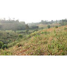 a historic Cameroon landscape Photographic Print