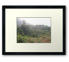 an awesome Cameroon landscape Framed Print
