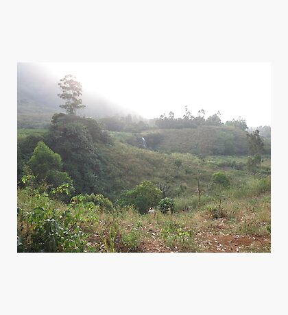 an awesome Cameroon landscape Photographic Print