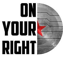 On Your Right! Photographic Print