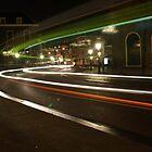 Lighttrails by Lindie