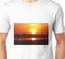 Autumn Gold Sunset Unisex T-Shirt