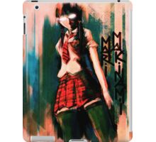 Mari Makinami Evangelion Anime Tra Digital Painting  iPad Case/Skin
