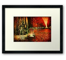 A Time and A Season Framed Print