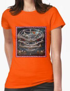 SKULL / TWILIGHT ZONE Womens Fitted T-Shirt