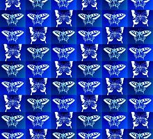 Blue Butterfly Fantasy by cathyjacobs