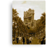 """The Hollywood Tower"" Canvas Print"