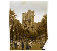 """The Hollywood Tower"" Poster"