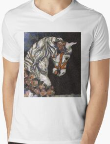 Childhood Dreams - My Lady Fair Wore Roses in Her Hair Mens V-Neck T-Shirt