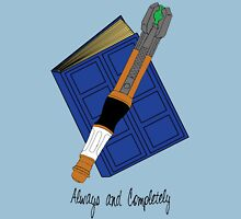 The Doctor & River Song - Always and Completely Unisex T-Shirt