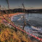 Caution Wet Paint -Avalon Headland, Sydney - The HDR Experience by Philip Johnson