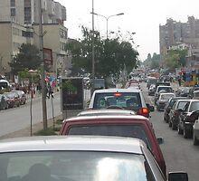 Bill Clinton Boulevard,  Prishtine by dougie1page2