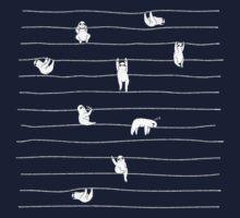 Sloth Stripe Kids Tee