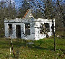 The Haven Modern Motel Ruins by wiscbackroadz