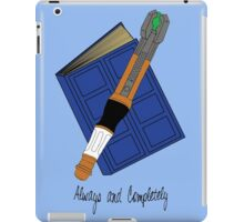 The Doctor & River Song - Always and Completely iPad Case/Skin