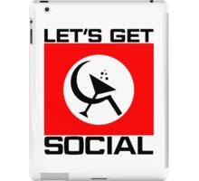 Let's Get Social iPad Case/Skin