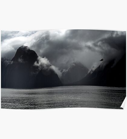 In the Hall of the Mountain King- Storm Clouds. Poster