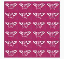 Stunning Hot Pink Butterflies  Baby Tee